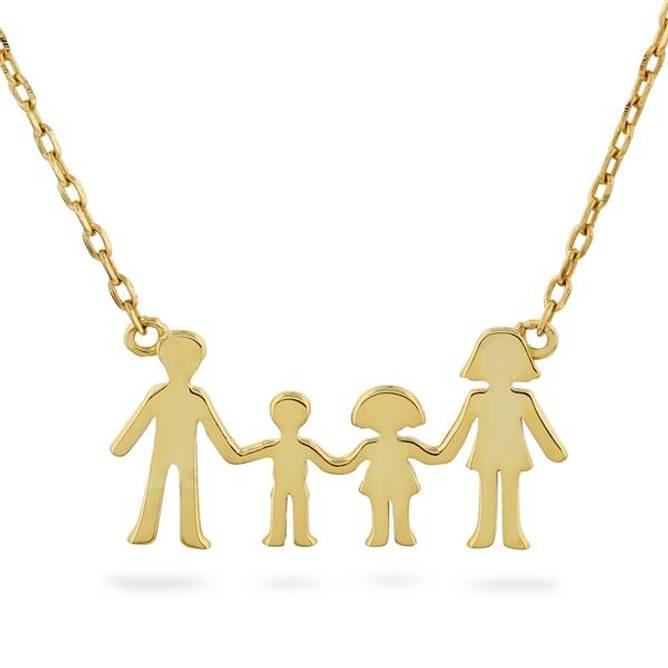 Bilde av Familie smykke, 1 jente og 1