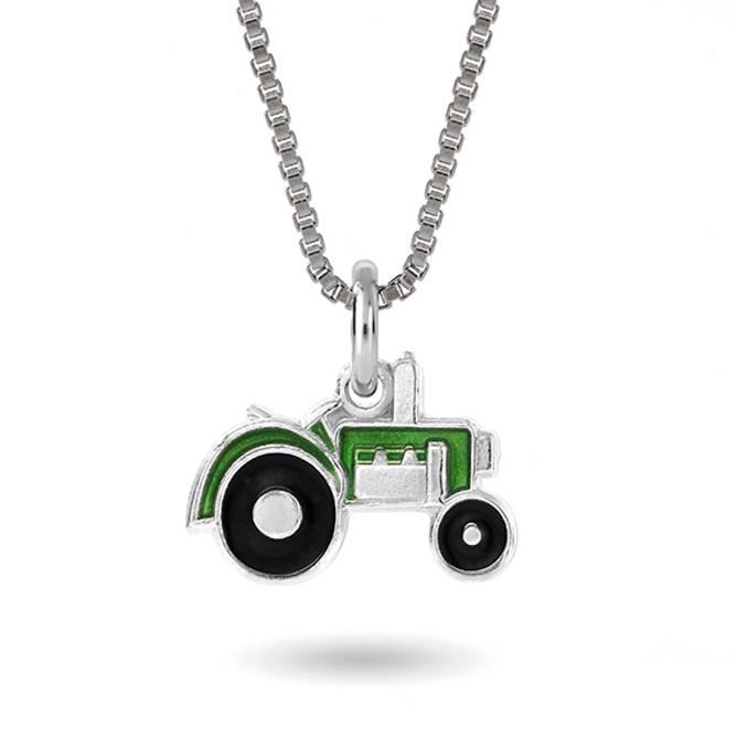 Bilde av Grøn traktor smykke