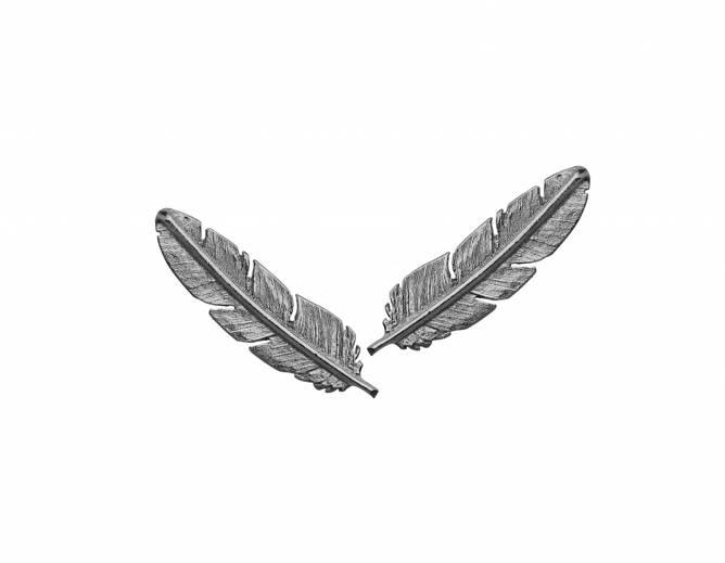 Bilde av Feather ørepynt, stikk