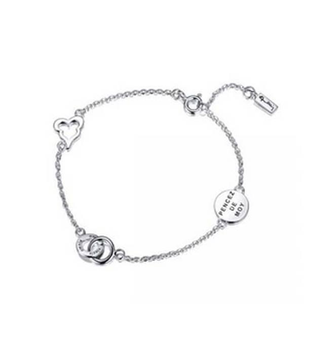 Bilde av Mini love armband, sølv